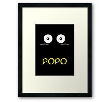 Popo Framed Print