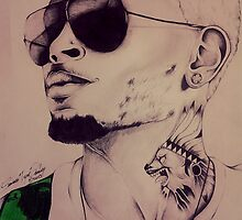 """Chris Brown """"Don't Judge Me"""" By TayeTheArtist by TayeTheArtist"""