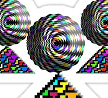 """The Elementary Chebyshev Necklace""© Sticker"