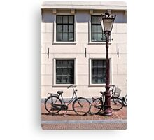 Vintage Bicycles - Plain Canvas Print