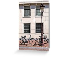 Vintage Bicycles - Plain Greeting Card