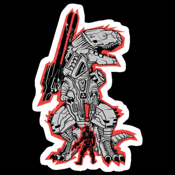 Metal Gear T.REX by MeleeNinja