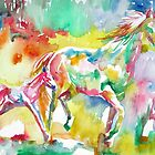 RUNNING HORSE and FOAL.2 by lautir
