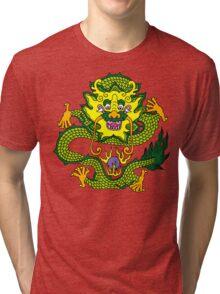 Chinese Dragon T-Shirt Tri-blend T-Shirt