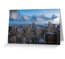 Storms and Sunsets Greeting Card