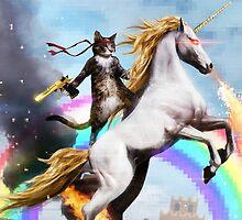 Unicorn & Cat!   by RavensLaugh98