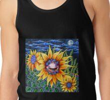Resting Sunflower Tank Top
