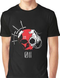 Mk.01 Skull Graphic T-Shirt