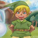 Link! the cute hero of time by helsic