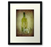 Party's Over Framed Print
