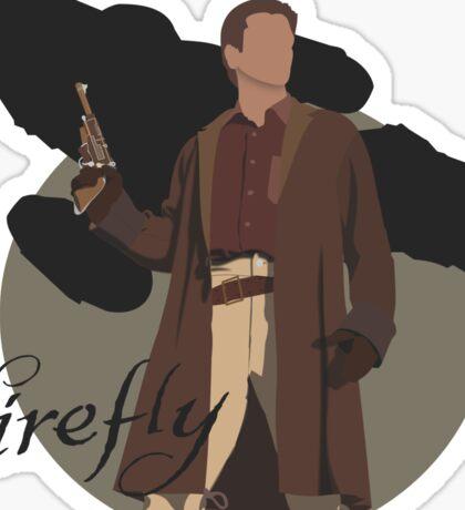 "Firefly ""Malcolm Reynolds"" Sticker"