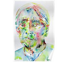 JIDDU KRISHNAMURTI watercolor portrait.1 Poster