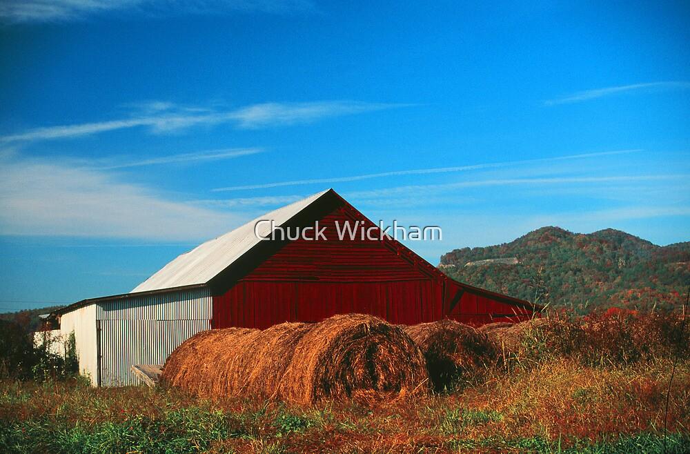 BARN,WEARS VALLEY,TN. by Chuck Wickham