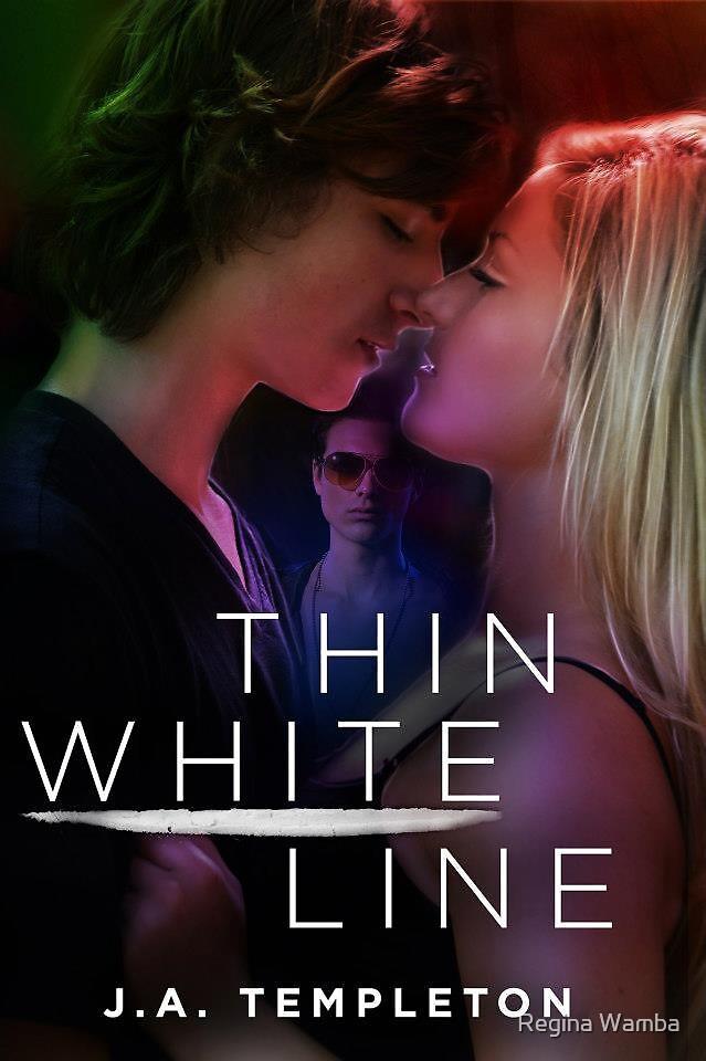Thin White Line- Front by Regina Wamba