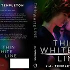Thin White Line- Full Wrap Cover by Regina Wamba