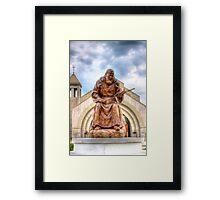 The Omen Framed Print