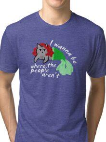 The Little Mercat Tri-blend T-Shirt