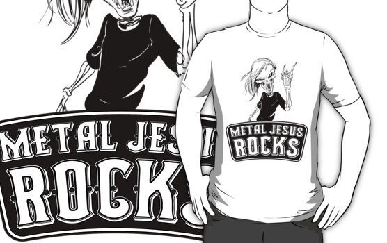 Metal Jesus RISEN by metaljesusrocks