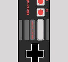 Retro Nintendo NES Controller iPhone Case by metroemporium