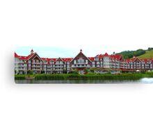 Blue Mountain resort Canvas Print