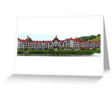 Blue Mountain resort Greeting Card