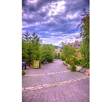 Blue Mountain path Photographic Print
