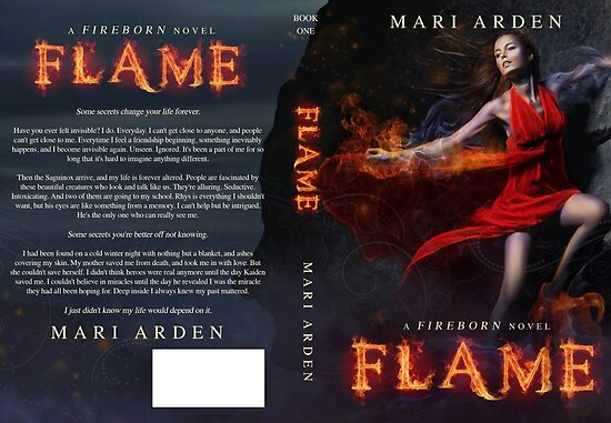 Flame- Full Wrap by Regina Wamba