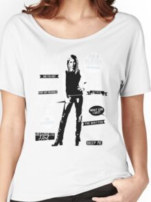 Quotes of a Slayer  Women's Relaxed Fit T-Shirt