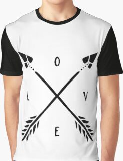 Arrow LOVE Graphic T-Shirt