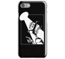Robot in the Spotlight iPhone Case/Skin