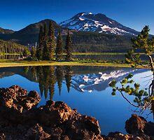 Sparks Lake Sunrise - Oregon by Mark Kiver