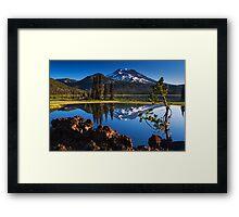 Sparks Lake Sunrise - Oregon Framed Print