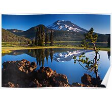 Sparks Lake Sunrise - Oregon Poster