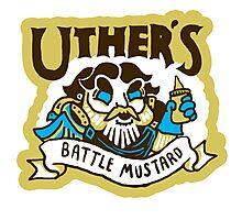 Uther's Battle Mustard Photographic Print