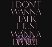 Girls Aloud - I Don't Wanna Talk I Just Wanna Dance - Pink w/ Image t-shirt/sticker  T-Shirt