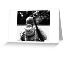 Bullets and Cigarettes Greeting Card