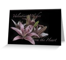 "Cards ""From the Heart"" Series Greeting Card"