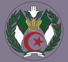 Coat of Arms of Algeria by Tia Knight