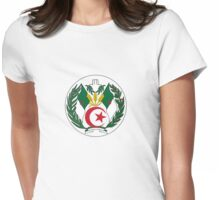 Coat of Arms of Algeria Womens Fitted T-Shirt