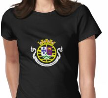 Coat of arms of Portuguese West Africa Womens Fitted T-Shirt