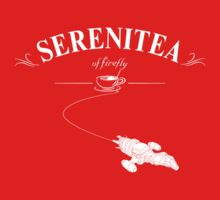 Serenitea (White Version) Kids Tee