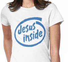 "Christian ""Jesus Inside"" T-Shirt Womens Fitted T-Shirt"