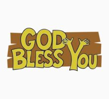 "Christian ""God Bless You"" T-Shirt Kids Clothes"