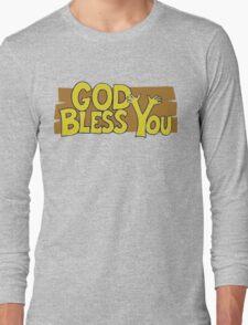 "Christian ""God Bless You"" T-Shirt Long Sleeve T-Shirt"