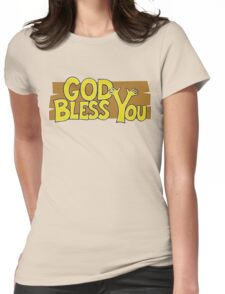 "Christian ""God Bless You"" T-Shirt Womens Fitted T-Shirt"