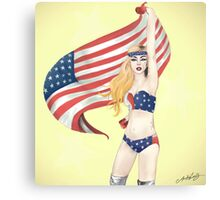 United States of Gaga Canvas Print