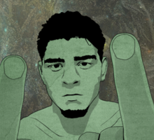 Nick Diaz Sticker