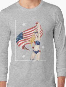 United States of Gaga Long Sleeve T-Shirt