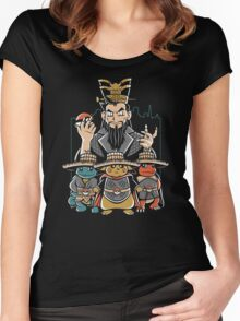 Big Trouble in Little Kanto Women's Fitted Scoop T-Shirt
