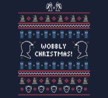 Have a Wobbly Christmas! by Plan8